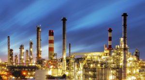 refinery-sunset